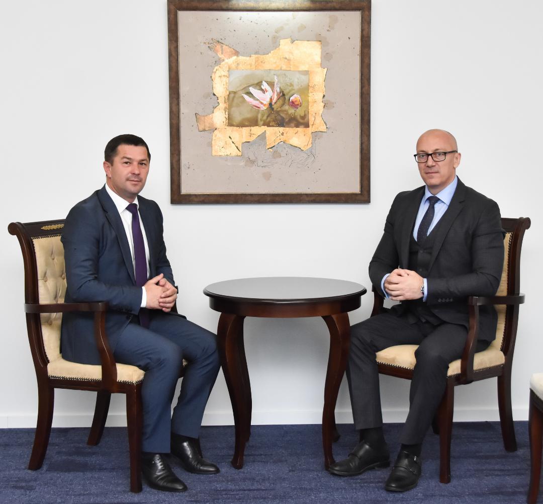Rakić i Todić razgovarali o podršci infrastrukturnim projektima u Leposaviću