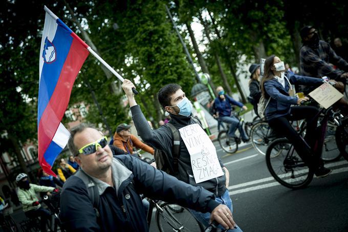 U Ljubljani novi protesti protiv mera i kovid propusnica