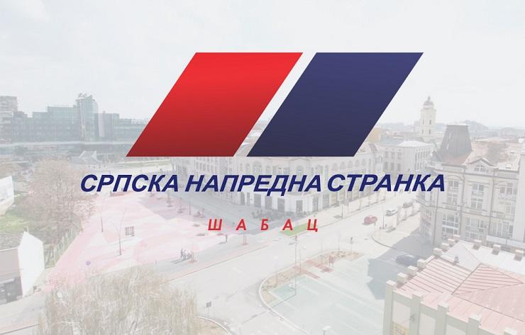 GO SNS Šabac zahvaljuje na iskazanoj podršci Šapčanima