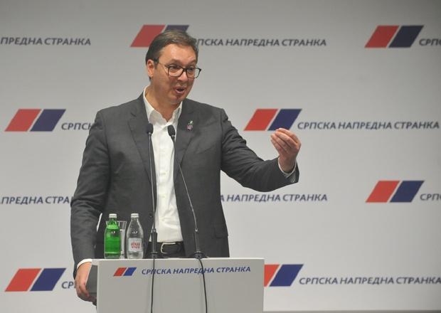 Vučić:Nova lica na listi SNS,bavićemo se sobom,ne partnerim