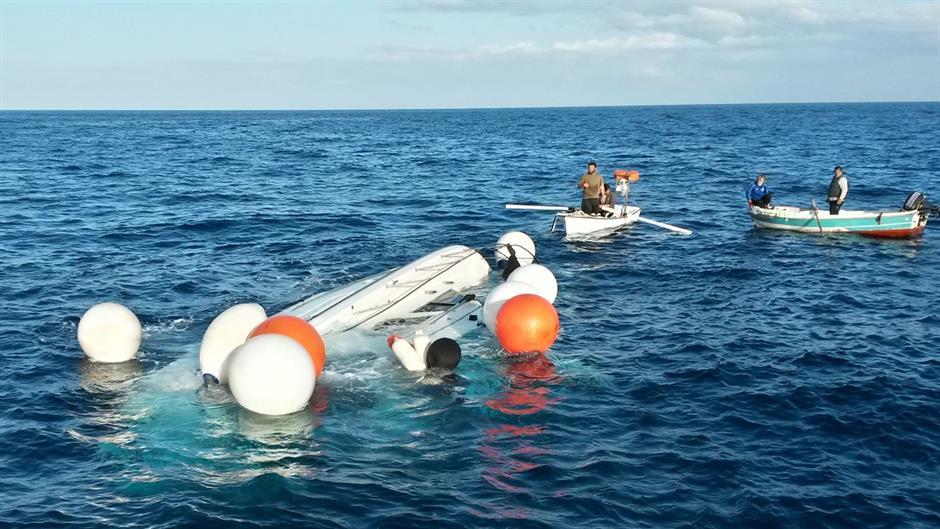 Potonuo brod sa 86 migranata, tri osobe preživele