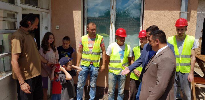 Spirić obišao radove na kući porodice Nedeljković