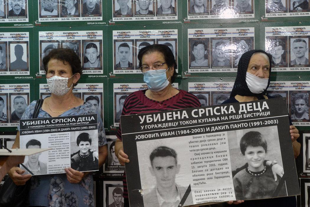 Sećanje na ubijenu decu u Goraždevcu, borba za pravdu