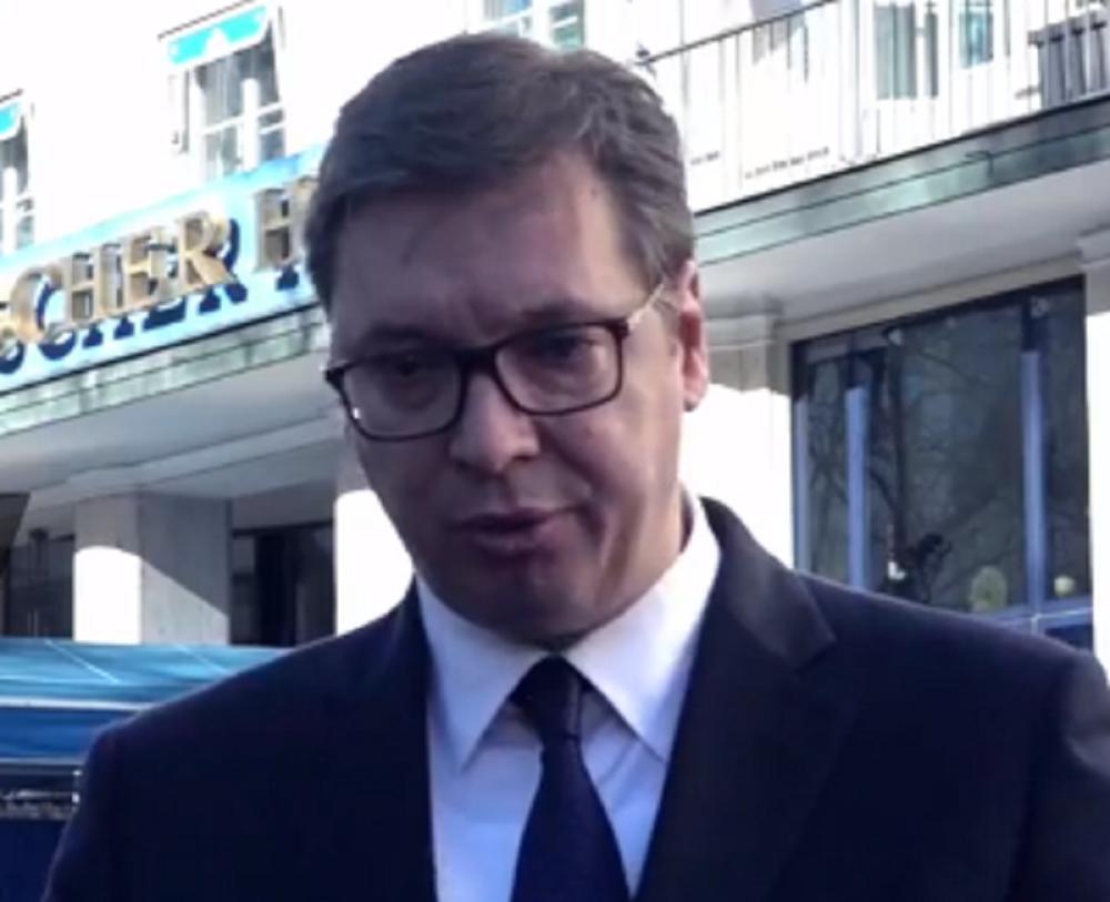 Vučić: Kosovski Albanci simuliraju realnost koja ne postoji