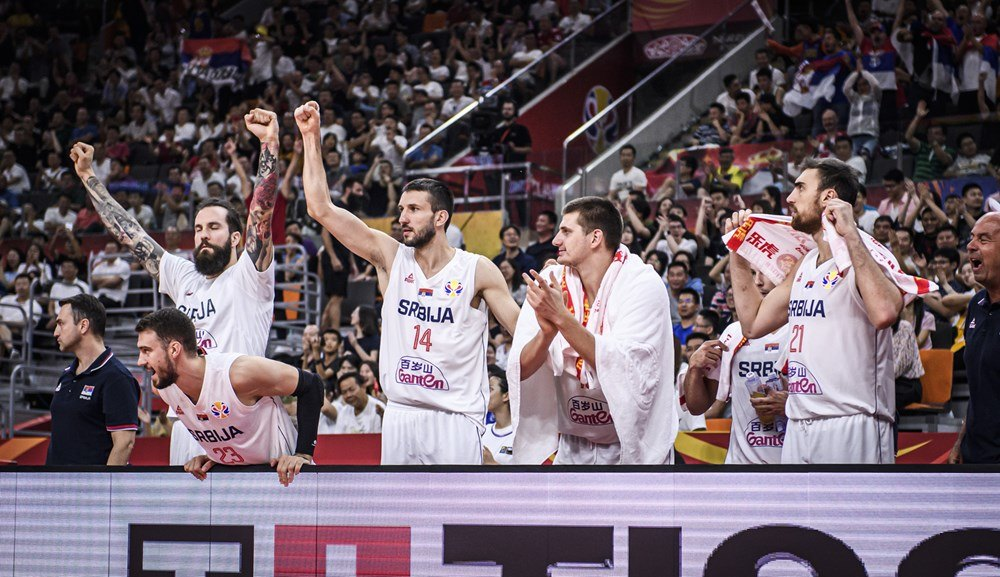 Srbija pobedila Češku, peta na svetu