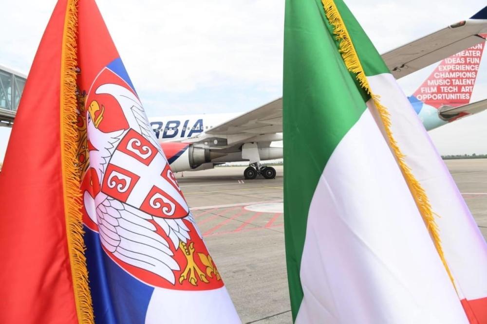 Italija zahvaljuje Srbiji i njenom predsedniku na velikodušnoj donaciji