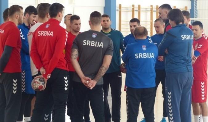 Rukometaši Srbije sa šestoricom debitanata na SP