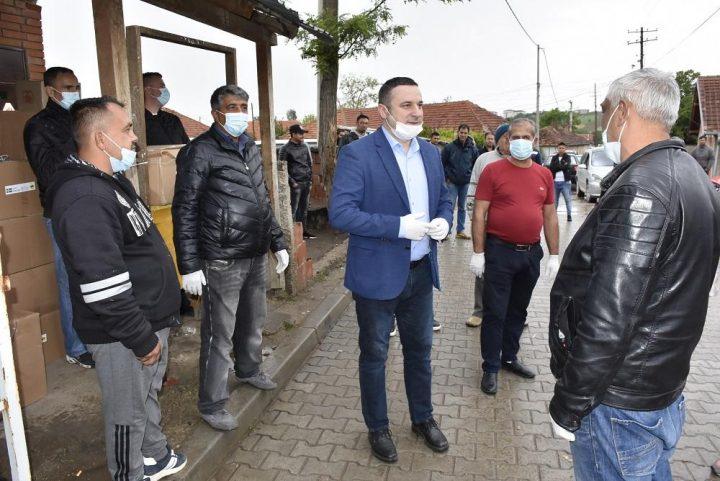 Pomoć za romske porodice u Gračanici