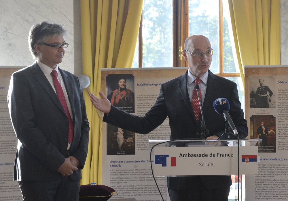 Istoričar Stanislav Sretenović nagrađen francuskim ordenom za zasluge