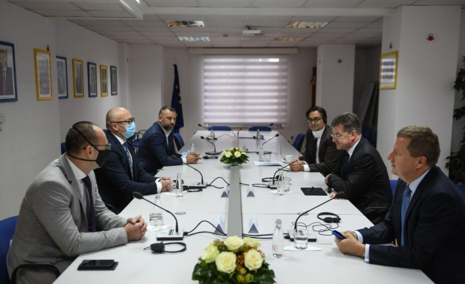 Delegacija Srpske liste sa Lajčakom: Formirati ZSO bez odlaganja