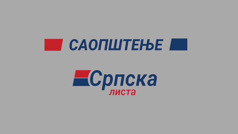Srpska lista osuđuje prljavu kampanju laži i obmana uperenu protiv predsednika Vučića