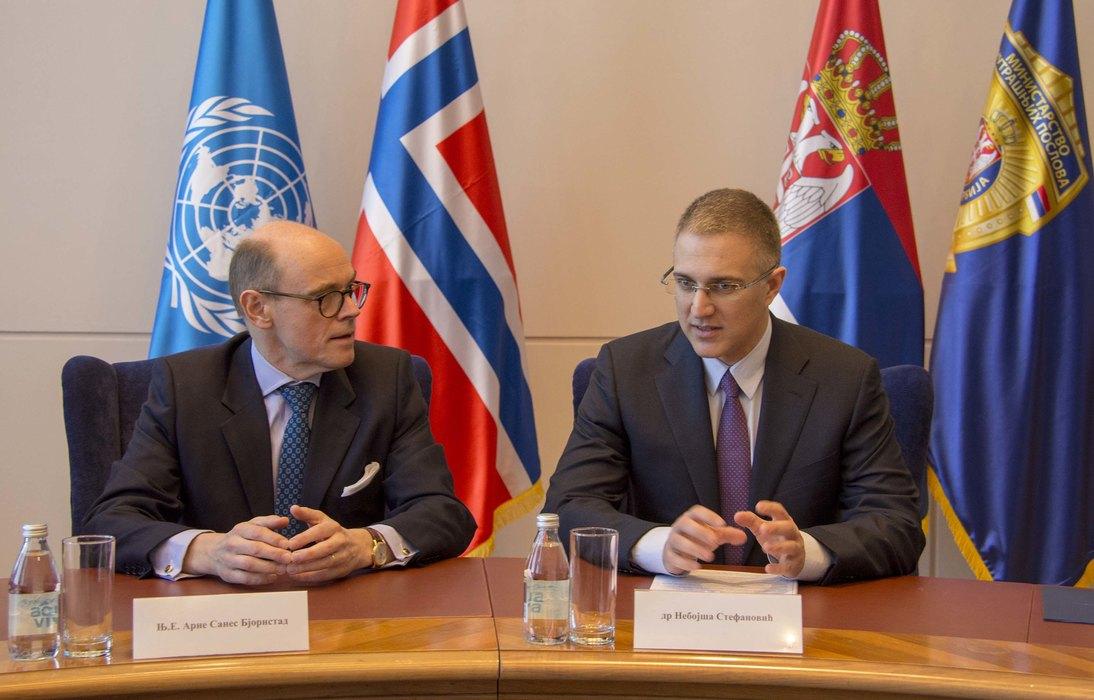 Norveška donacija jača srpsku policiju, zajednička borba protiv narkotika