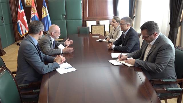 Stefanović i Kif o policijskoj saradnji, posebno terorizmu