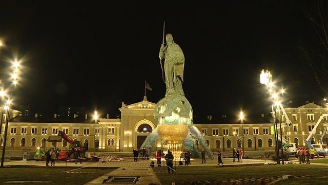 Svečano otkrivanje spomenika Stefanu Nemanji