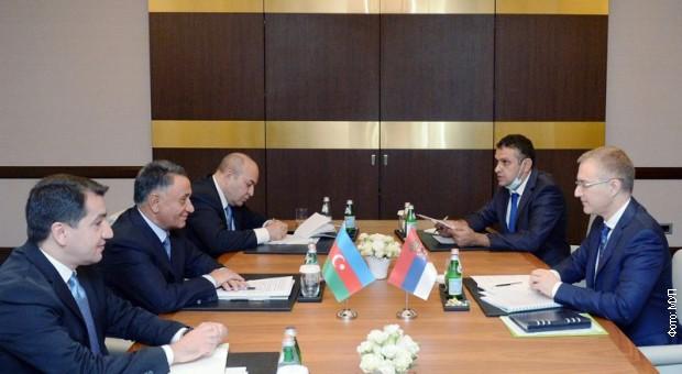 Stefanović u Azerbejdžanu – podrška principima teritorijalnog integriteta