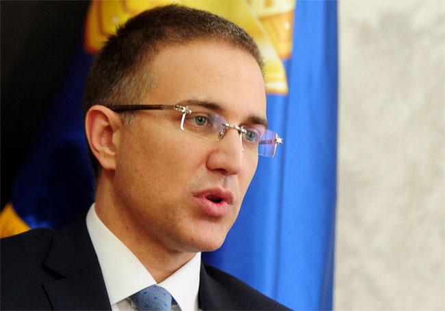 Stefanović: Noćas oko 150 ljudi prekršilo policijski čas