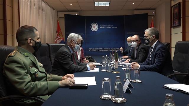 Stefanović sa ambasadorom Alžira o KiM, nastavku saradnje...