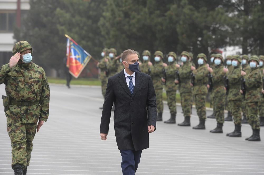 Stefanović: Uvođenje obaveznog služenja vojnog roka ojačaće Vojsku Srbije