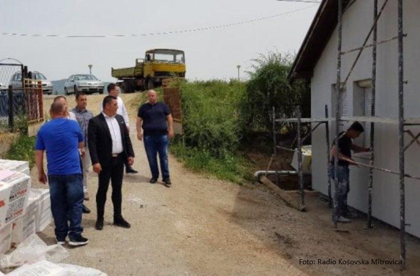 Spirić obišao radove na porodičnoj kući Stojanovića
