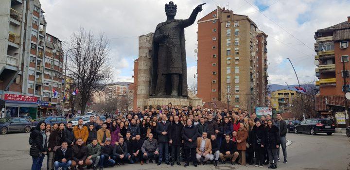 Trodnevna poseta studenata iz centralne Srbije završava se obilaskom severa Kosova