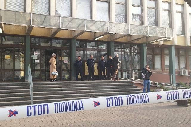 Sud u Novom Sadu ponovo evakuisan zbog dojave o bombi