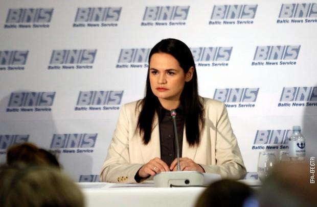 Tihanovska: Zbog gušenja protesta, od sutra generalni štrajk