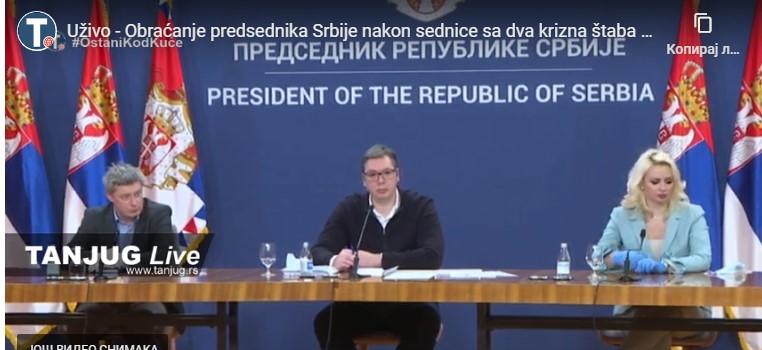 Vučić: Uskoro proizvodnja hirurških maski u Srbiji