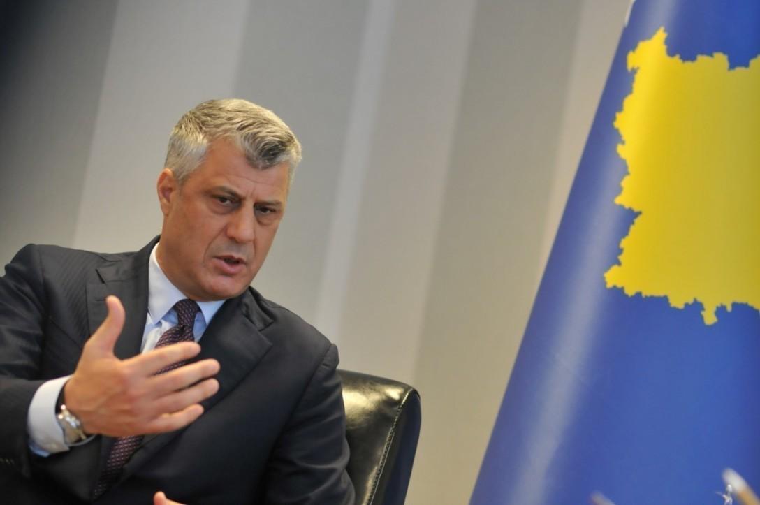 Tači:Podela Kosova samo preko mene mrtvog