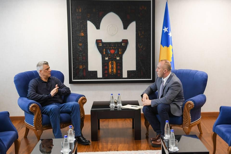 Iznenadni sastanak Haradinaja i Tačija