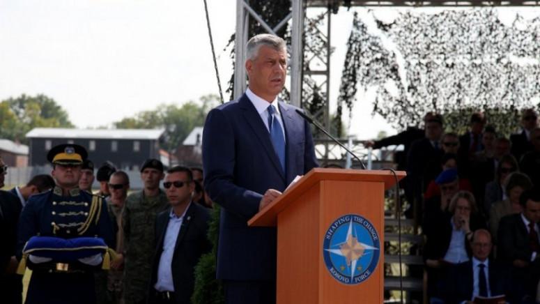 Tači: Kfor sačuvao spoljne granice Kosova i unutrašnju stabilnost