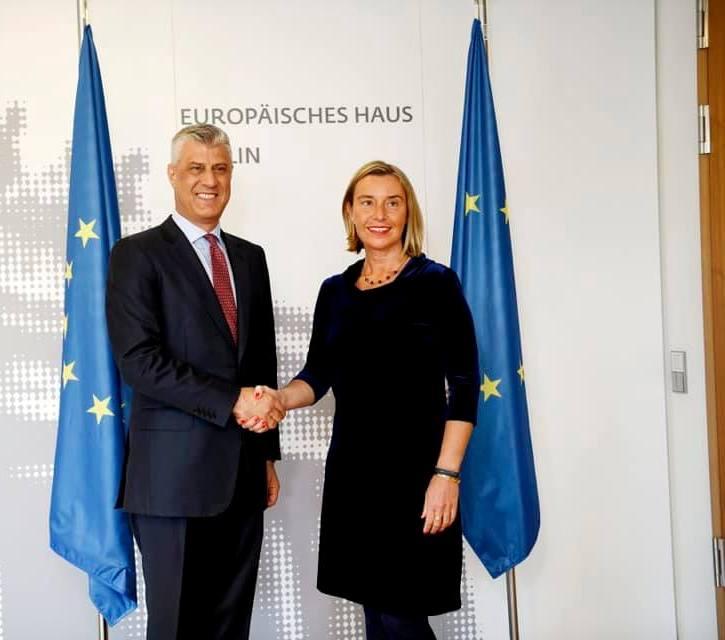 Tači: Imamo podršku za postizanje konačnog sporazuma sa Srbijom