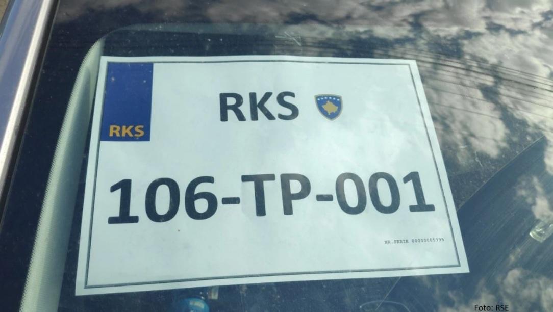 Od sutra privremene tablice i u centrima za registraciju vozila