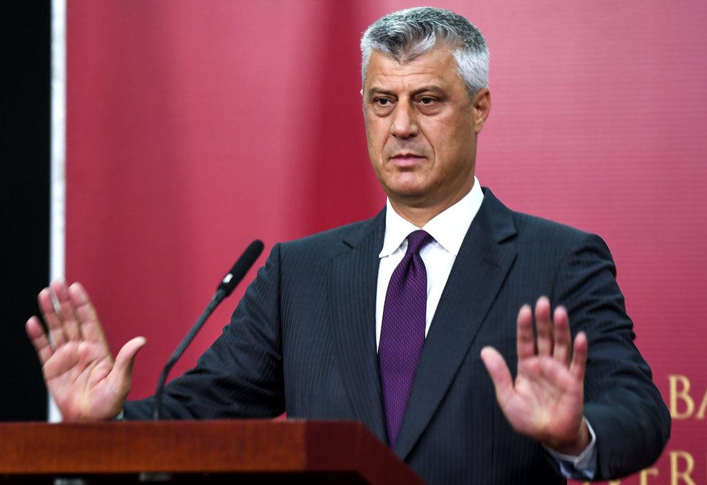 Tači: Razmena teritorija sa Srbijom najbolja mogućnost napretka ka EU