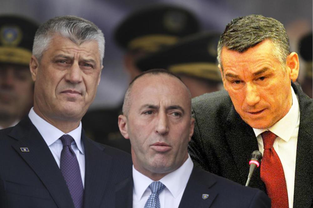 Tači, Haradinaj i Veselji: Sastanak u restoranu u centru Prištine