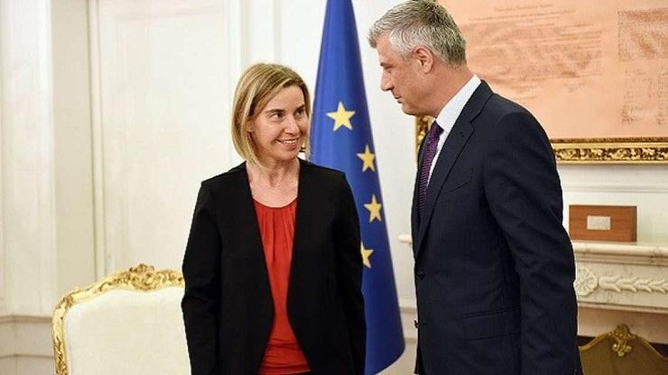 Tači i Mogerinijeva u Tirani razgovarali o dijalogu Beograd Priština