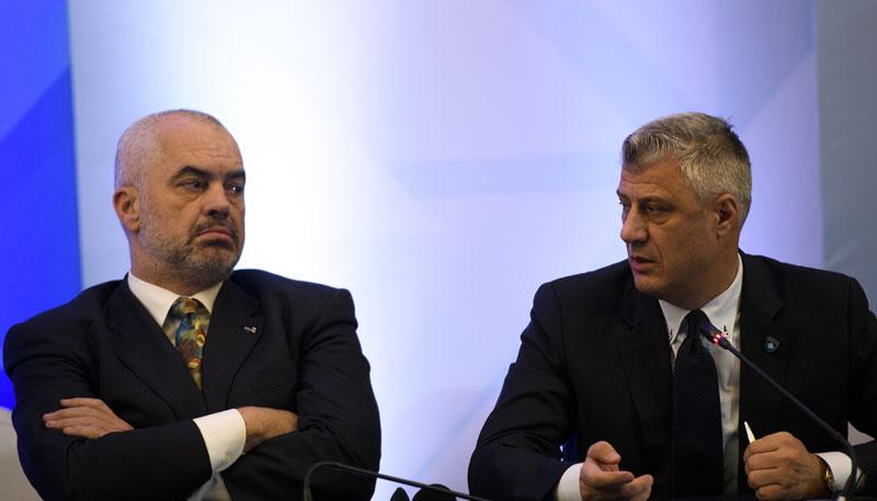 Gazeta Blic: Rama i Tači u misiji formiranja vlade bez izbora