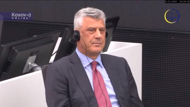 Odbijen zahtev Tačija za osporavanje nadležnosti suda u Hagu