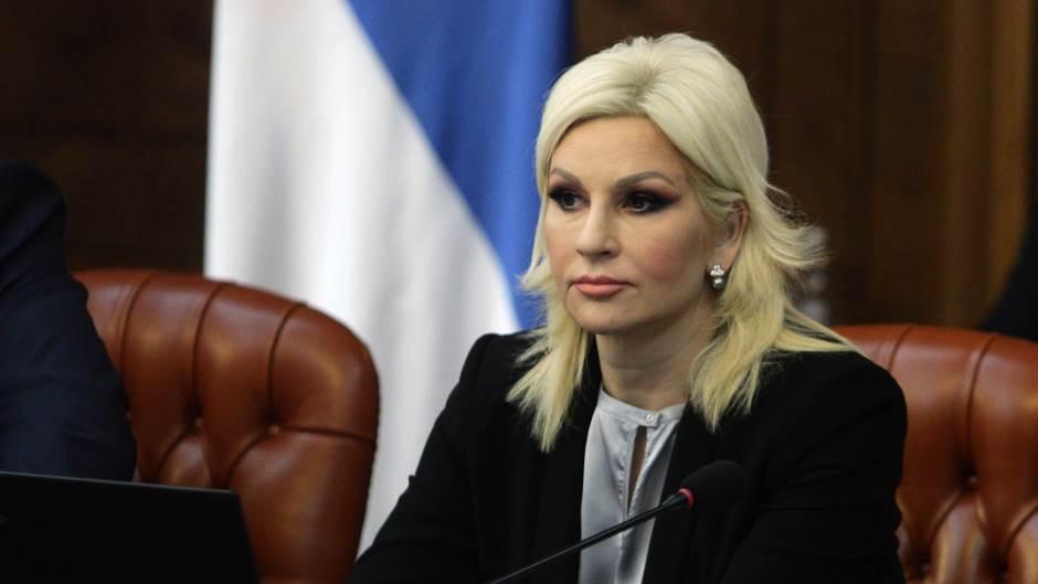 Mihajlovićeva osudila pretnje Vučiću