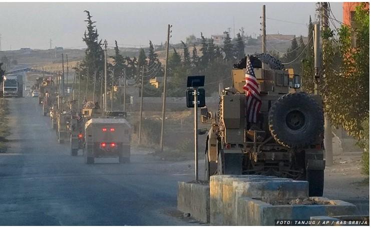 Konvoj američkih vojnika napadnut u Siriji