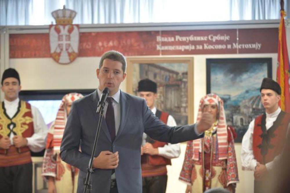 Marko Đurić otvorio štand Kancelarije za KiM na Beogradskom sajmu