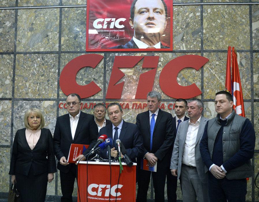 Dačić: SPS za razvijenu i socijalno-pravednu Srbiju