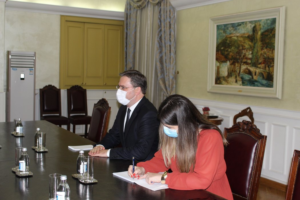 Selaković sa Šibom: Intenzivna saradnja Srbije i Nemačke