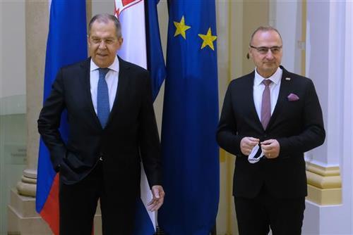 Lavrov sa Radmanom i o problemu srpskih opština na KiM