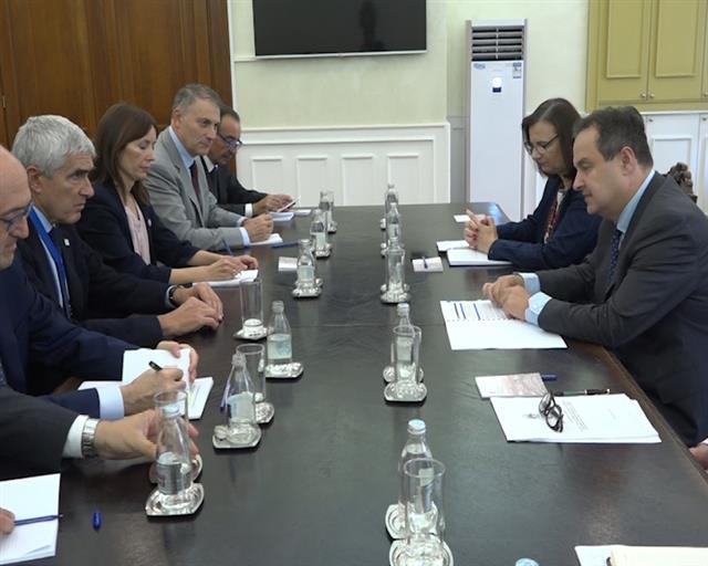 Dačić se sastao sa italijanskim parlamentarcima