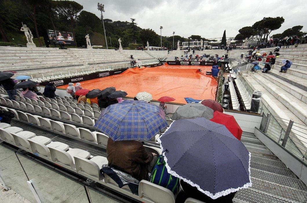 Stala kiša u Parizu, Novak i Tim ponovo na terenu