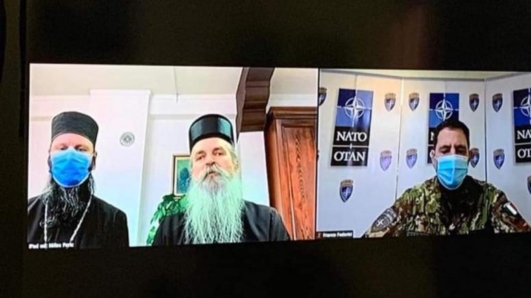 Komandant Kfora i episkop Teodosije o međusobnoj saradnji