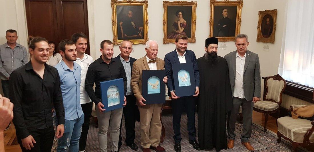 Priznanja Tesla global foruma Bećkoviću, Buisonu i studentima FTN-a