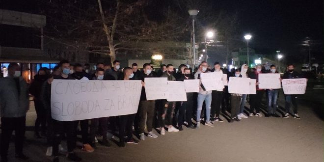 Protesti u Gračanici se nastavljaju