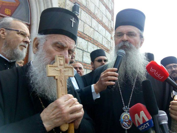 "Na današnji dan 2019. blaženopočivši patrijarh Irinej posetio Kosovsku Mitrovicu:""Ne delite se!"""