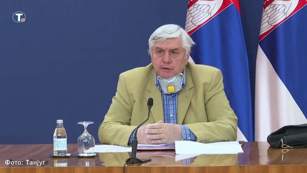 Tiodorović: Očekuje nas porast broja obolelih